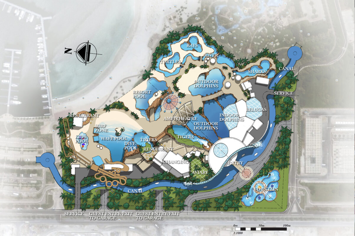 Illustrated plan