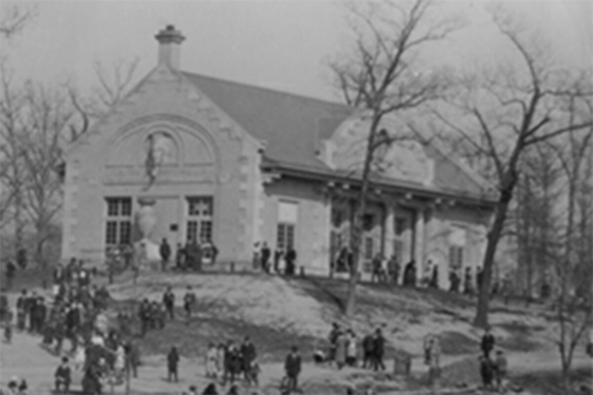 1917 View of Exterior