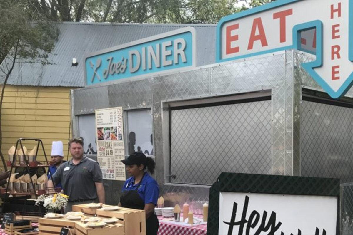 Themed Food Area