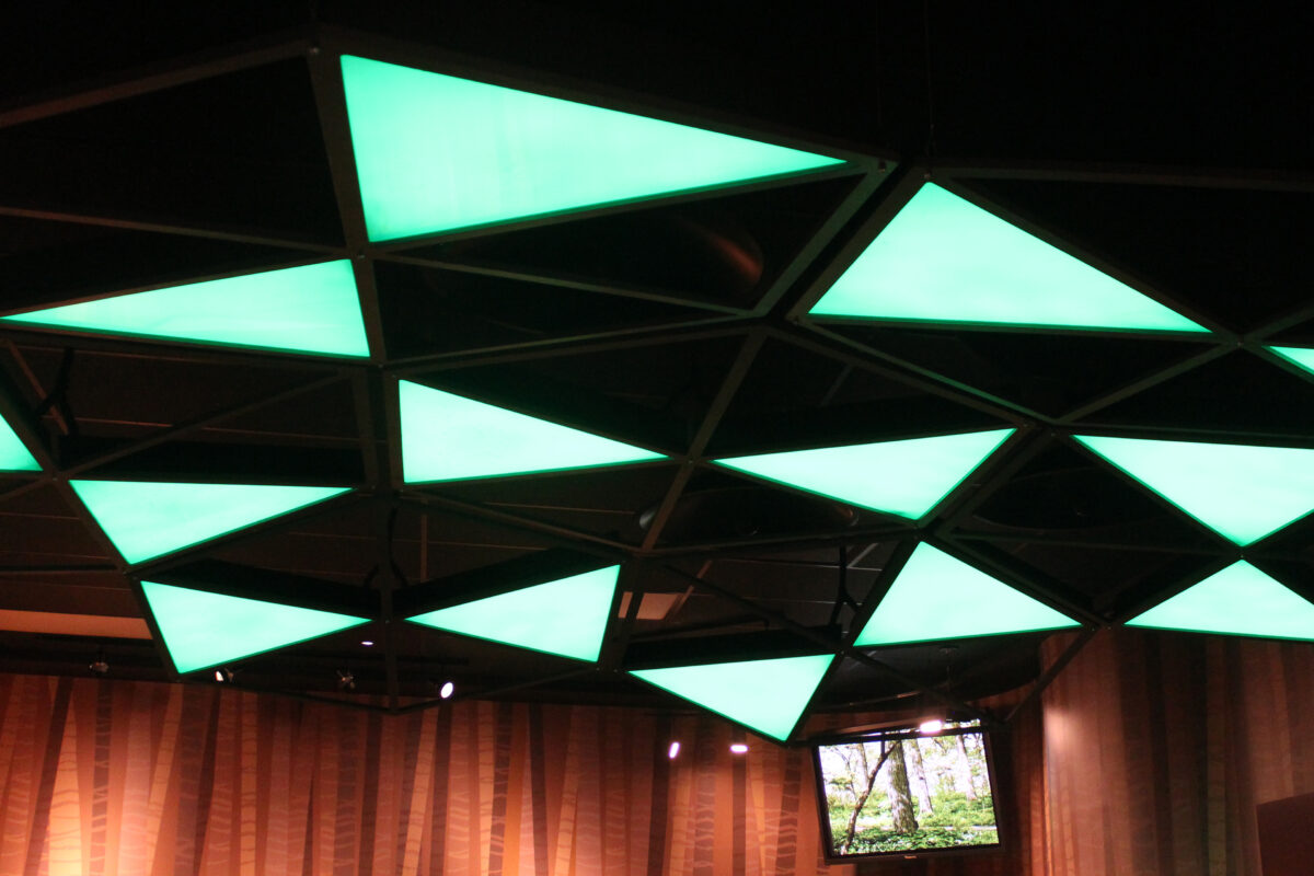 Overhead Lighting Treatment