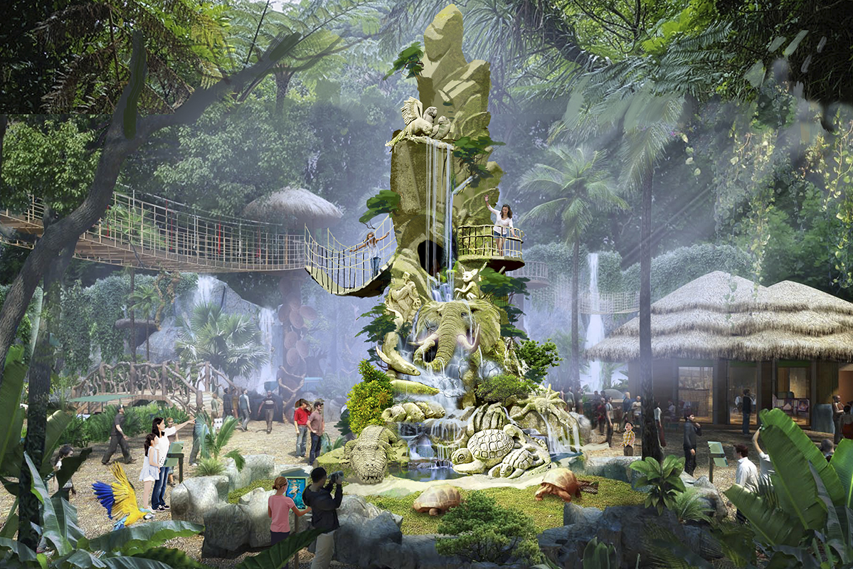 Interactive Monument Sculpture