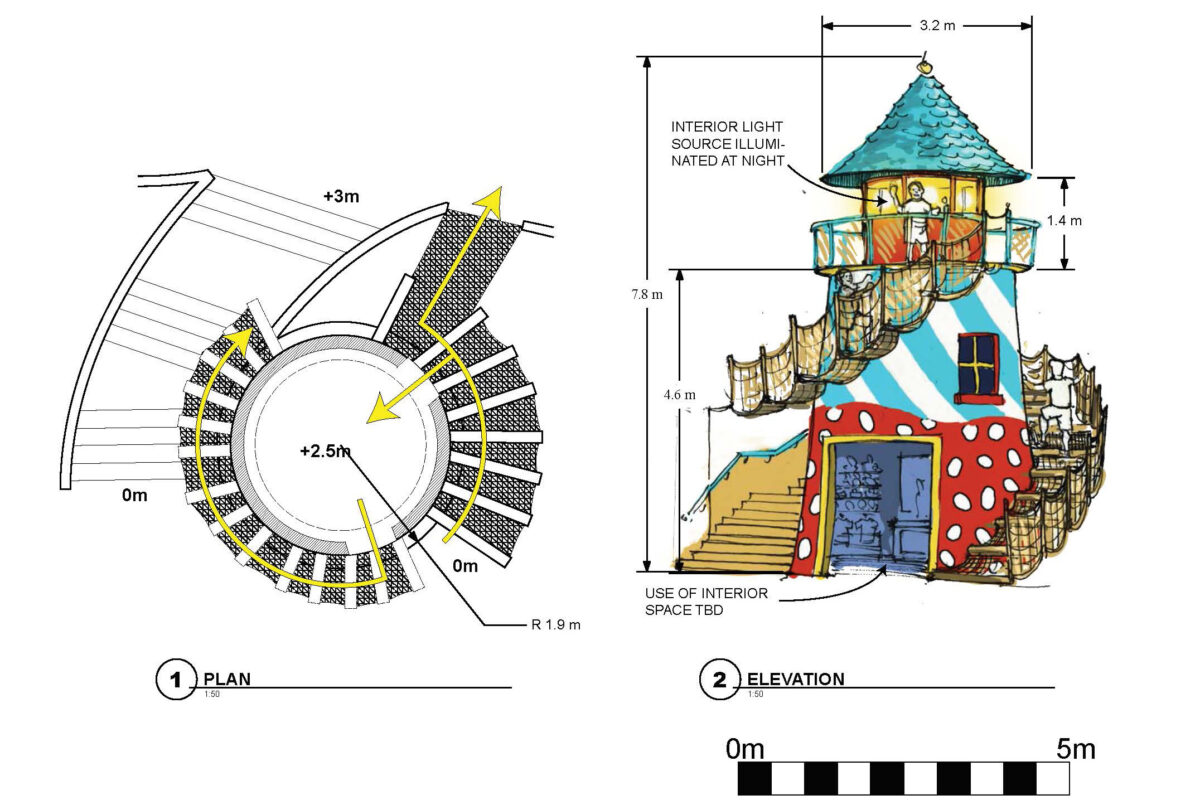 Play Tower Concept Rendering
